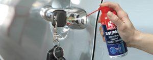 griffon slotspray spuiten in slot